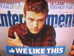 The Social Network - Entertainment Weekly - Justin Timberlake Cover