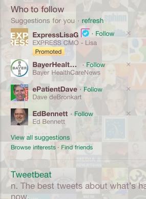 ExpressLisaG - Twitter Promoted Account