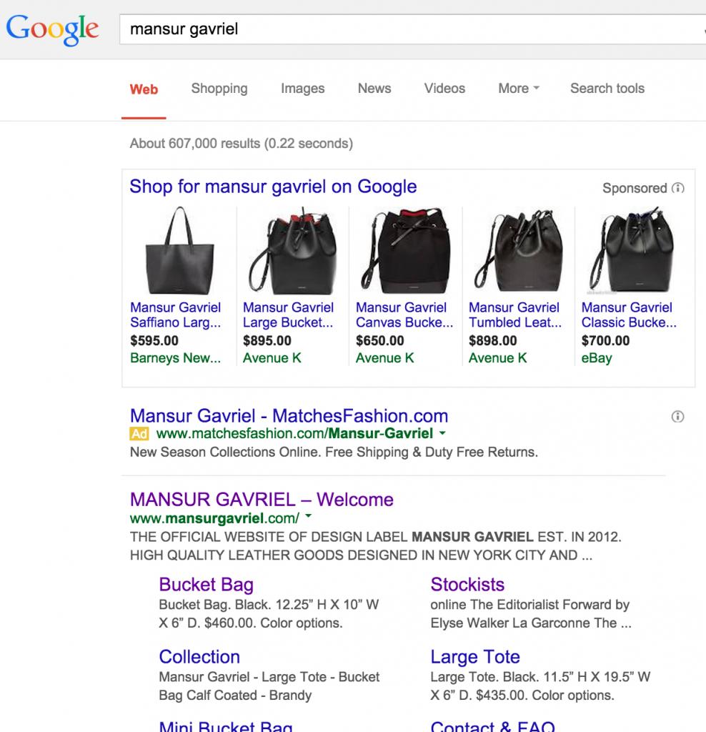 Mansur Gavriel Search Engine Marketing